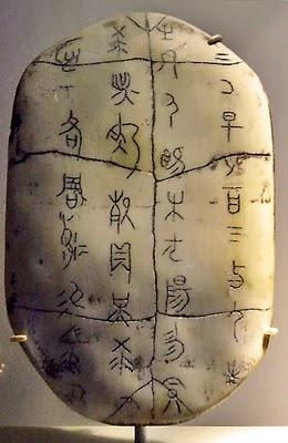 (3)Escritura en caparazones de tortuga