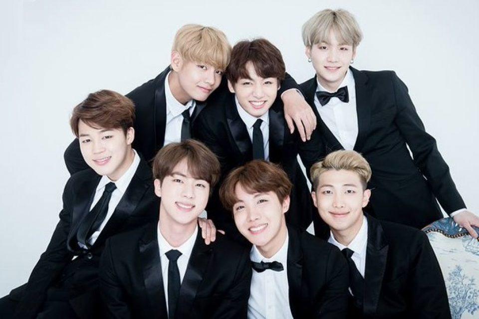 BTS como embajadores de Corea del Sur