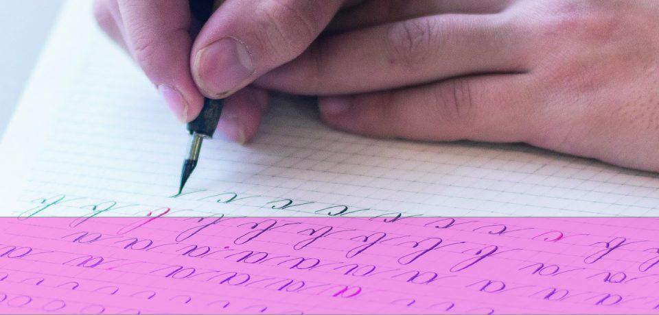 Taller de caligrafía rusa